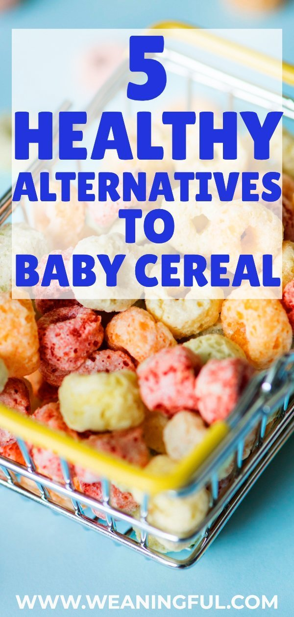 Looking to start solids with your little one? These 5 healthy alternatives to baby cereal can go a long way to make your journey smoother, whether you're doing baby led weaning or traditional weaning.