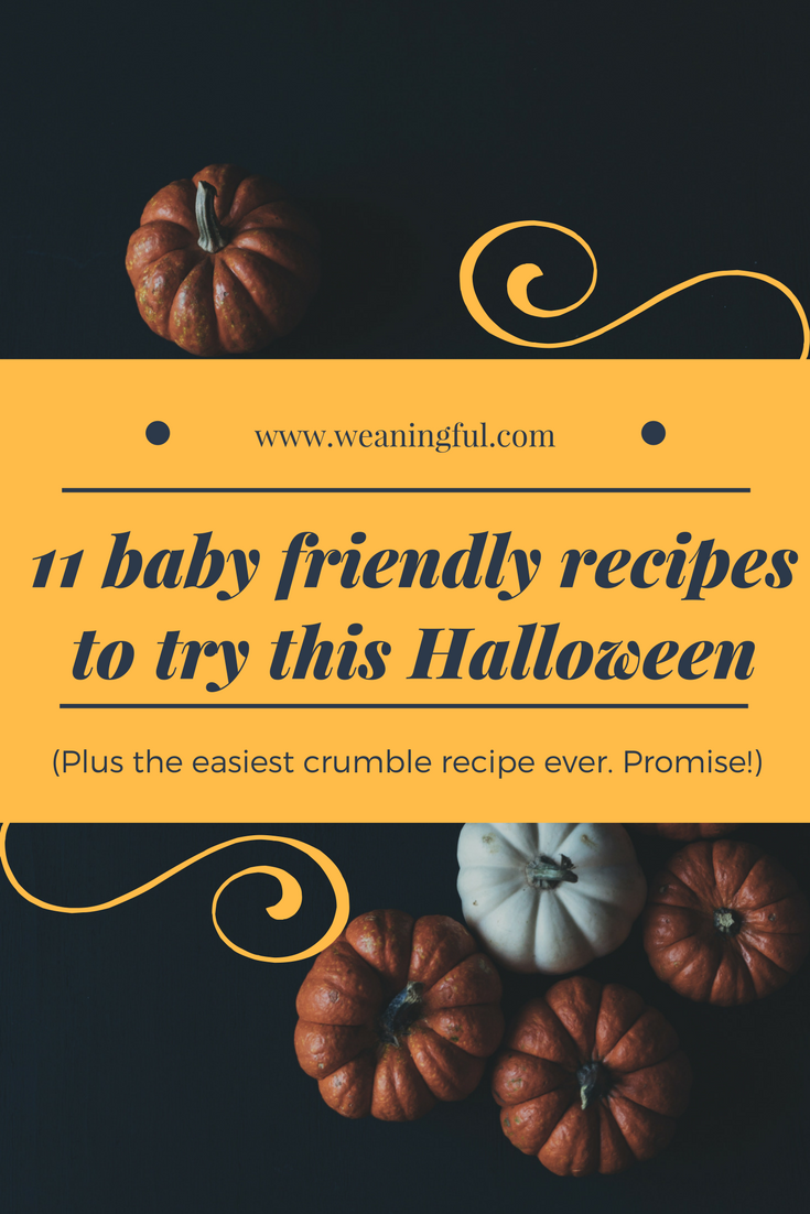 11 baby-friendly recipes to try this Halloween