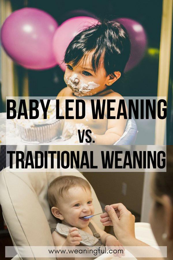 Baby led weaning versus traditional weaning or puree method - starting solids, first foods and finger foods at 6 months means you need to decide which weaning approach best suits your baby.