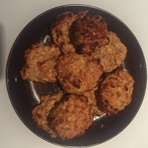 banana peanut butter oat cookies baby led weaning breakfast ideas finger foods first foods