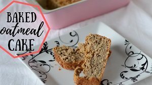 baby led weaning healthy baked oatmeal cake