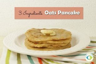 oat baby led weaning pancakes recipe