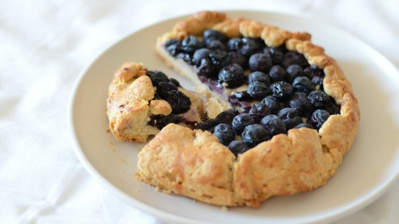 Blueberry galette – a baby led weaning recipe