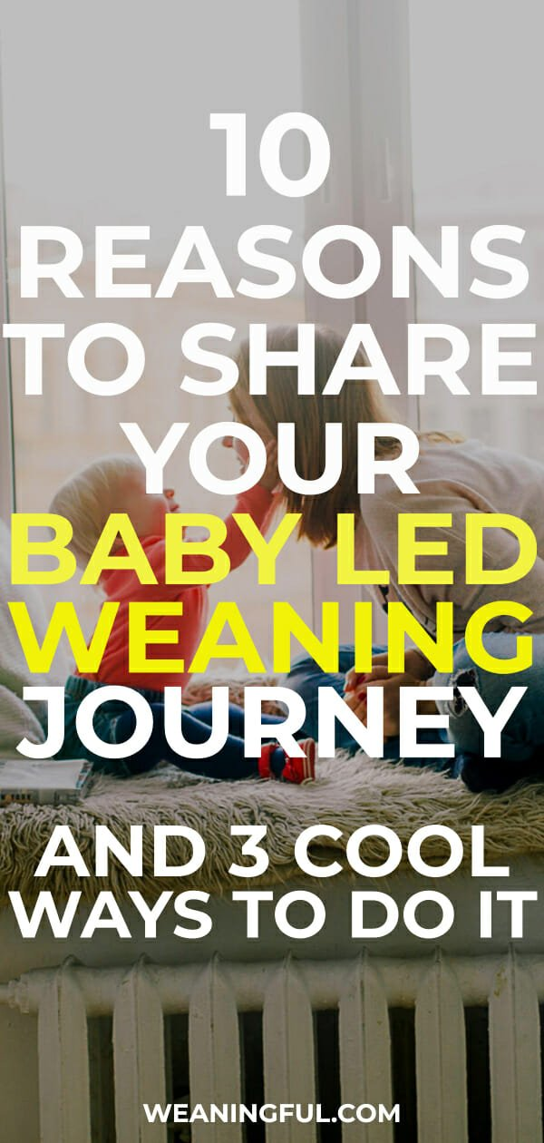 10 reasons to share your baby led weaning experiences