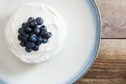 banana and blueberry smash cake recipe