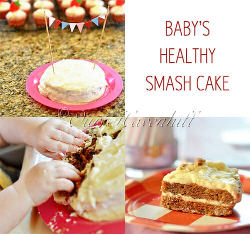 Remarkable 14 Healthy Smash Cake Recipes For Your Little Ones Birthday No Funny Birthday Cards Online Alyptdamsfinfo