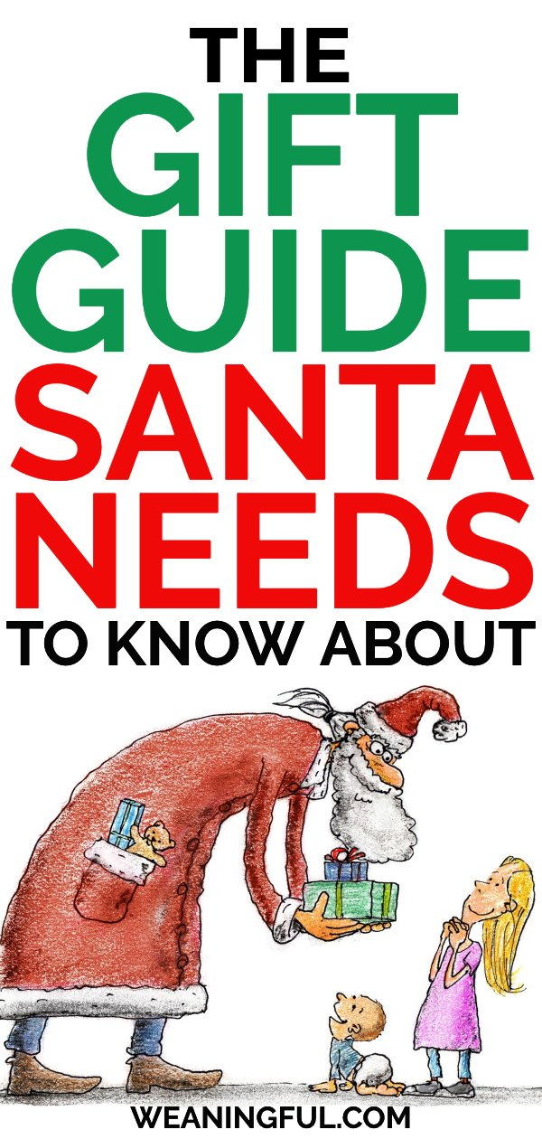 Make this Christmas special with a children's gift guide that Santa needs to know about. It's great for foodies and picky eaters alike and brings fun to the table. #christmas #giftguide #foodie #pickyeaters