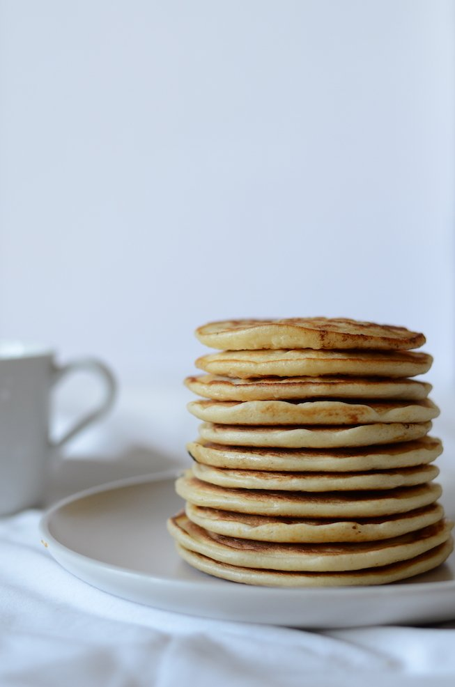 pancakes for baby led weaning 3 ingredients