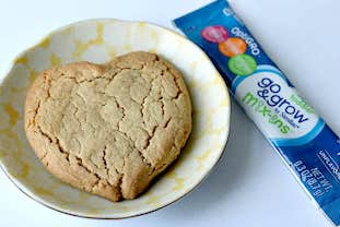 teething biscuits with peanut butter