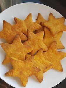sweet potato teething biscuits