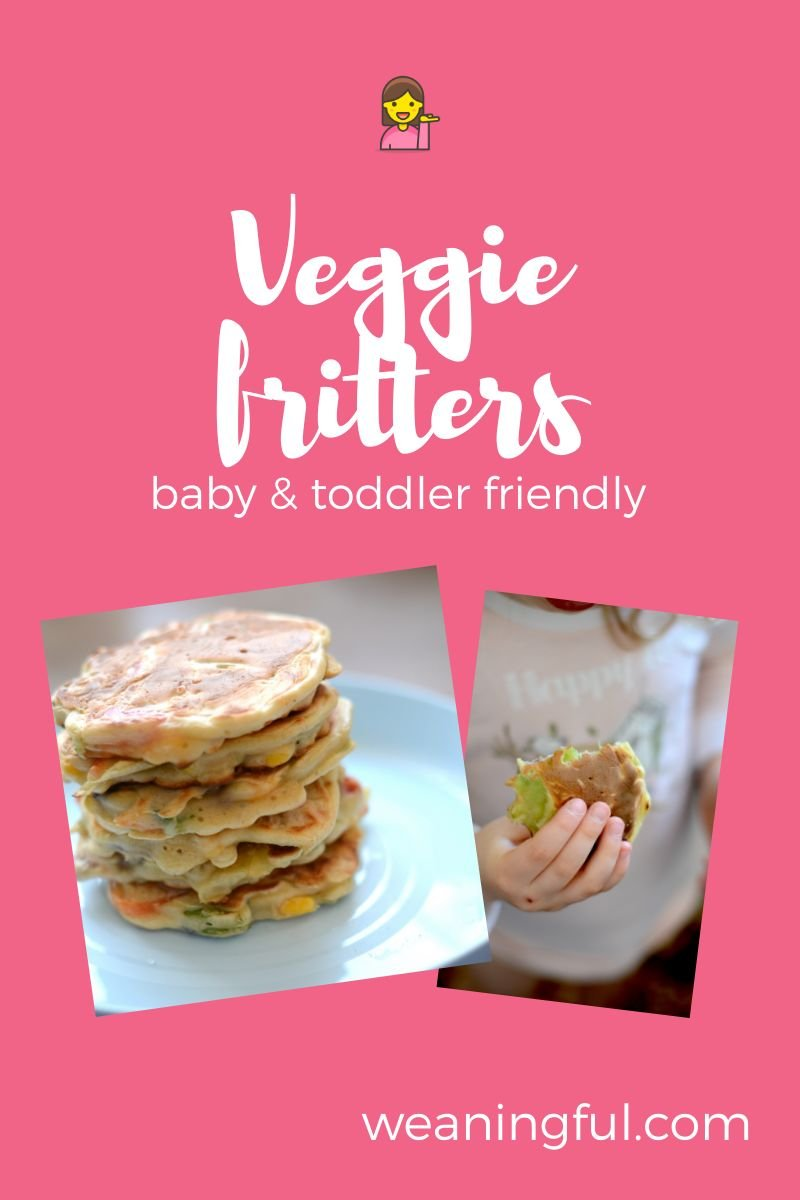 This vegetable fritter recipe is kid approved, easy and healthy too. With minimum ingredients you have a very versatile batter that works with most veggies and makes great finger food.