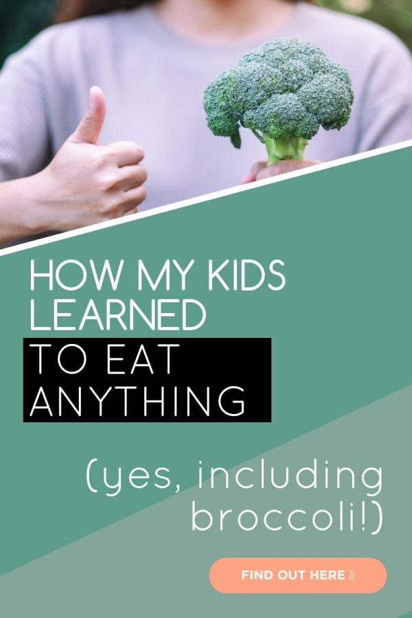 Here is how my kids learned how to eat or at least try any food I put in front of them. Whether you have a picky toddler or an older child who won't eat much, read about my approach to food rejection and how I turned the situation around eventually.